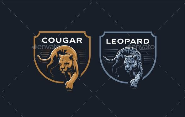 Cougar or Leopard - Miscellaneous Vectors