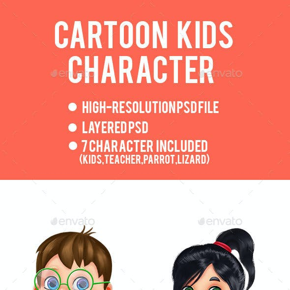 Cartoon Game Character Pack