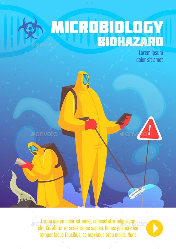 Biohazard Observation Vertical Poster - Miscellaneous Vectors