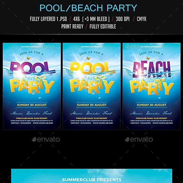 Pool / Beach Party