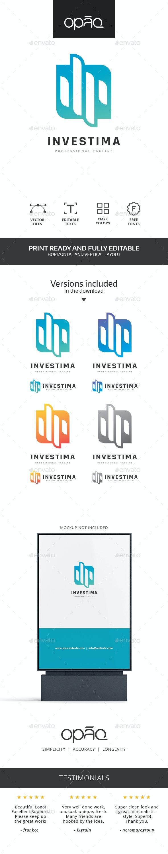 Investment Financial Logo - Symbols Logo Templates