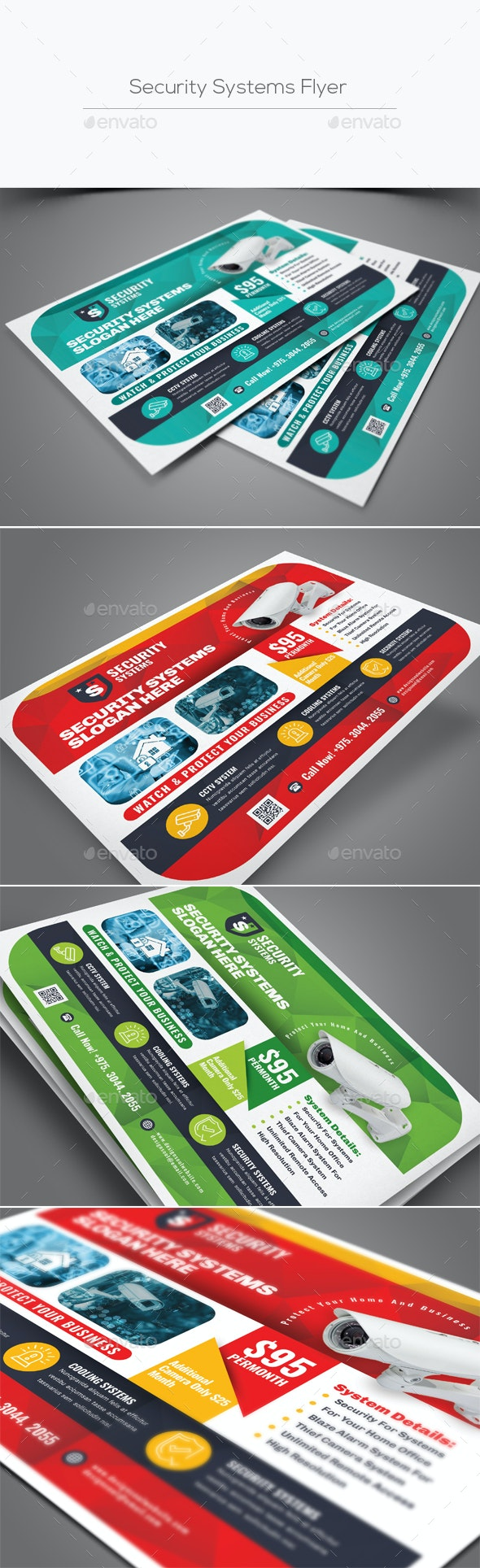Security Systems Flyer - Corporate Flyers