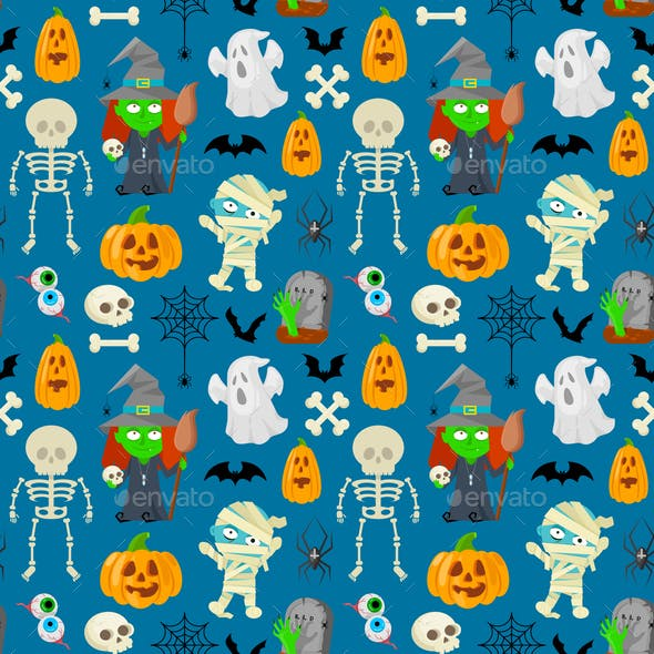 Pattern for Halloween