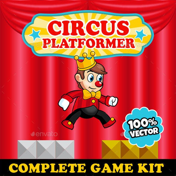 Circus Platformer - Complete Game Kit