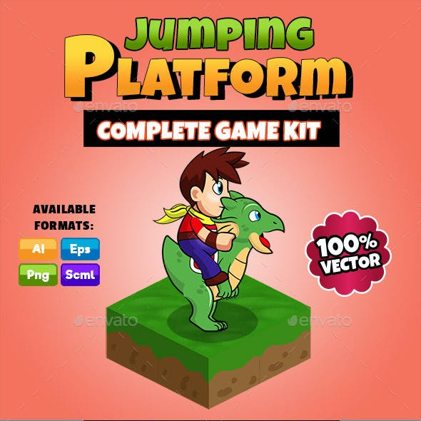 Jumping Platform - Complete Game Kit