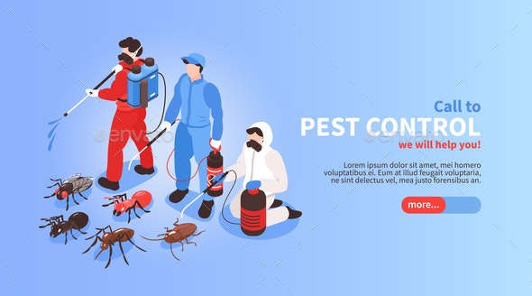 Pest Control Web Banner - Industries Business