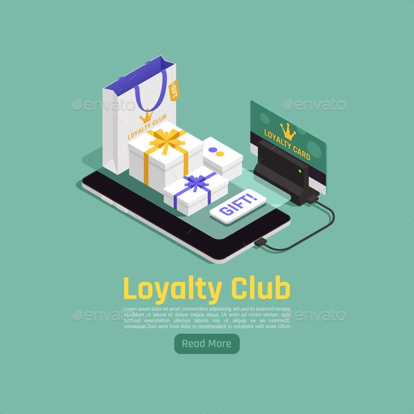 Customer Loyalty Gifts Background - Concepts Business