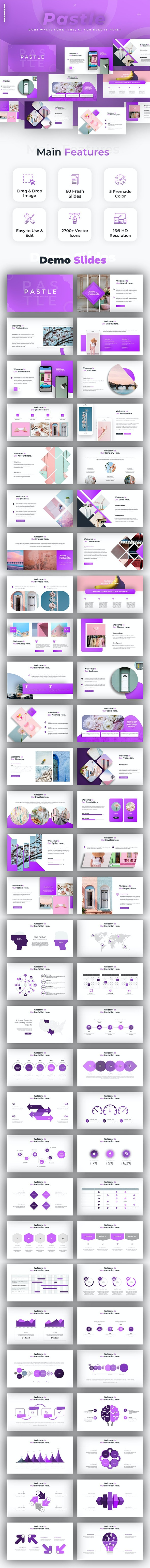 Pastle Creative Powerpoint - Creative PowerPoint Templates