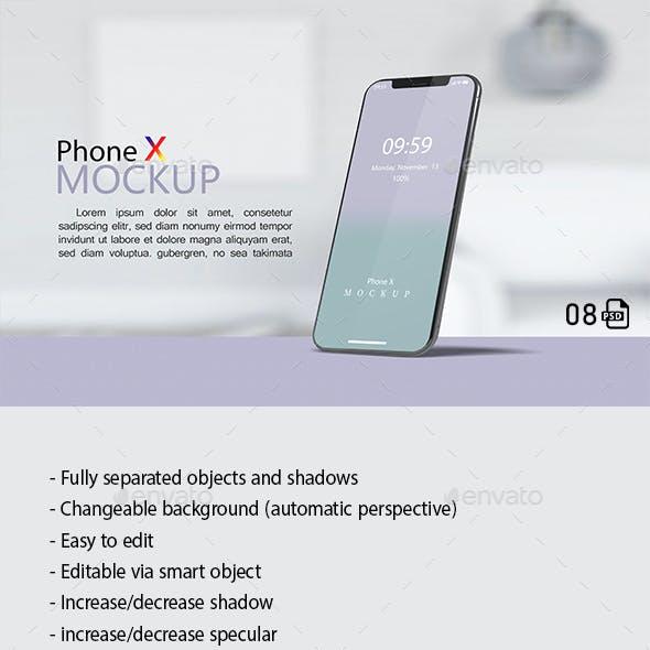 Phone X Mockups