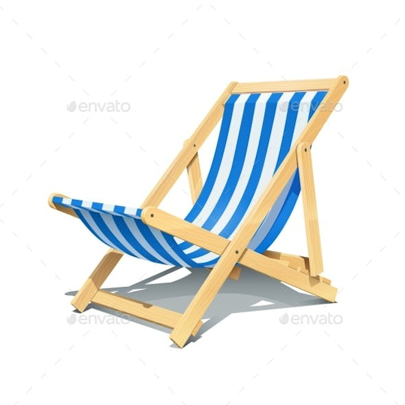 Beach Chaise Lounge for Summer Rest