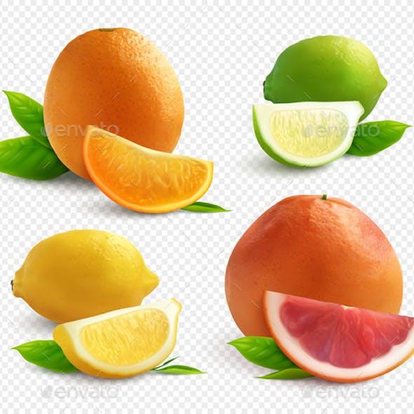 Citrus Transparent Set