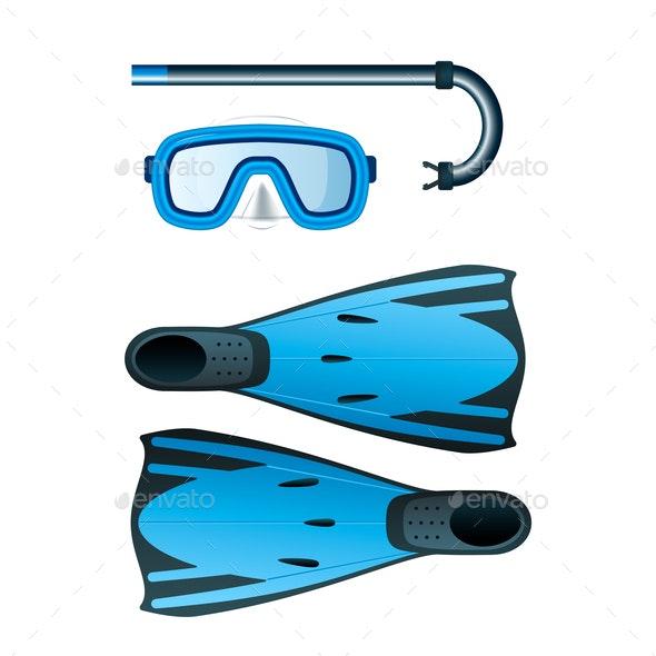 Diving Set - Sports/Activity Conceptual
