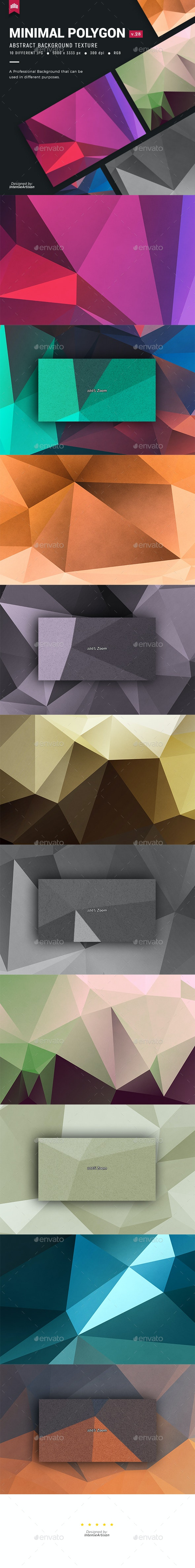 Minimal - Polygon Background V.28 - Abstract Backgrounds