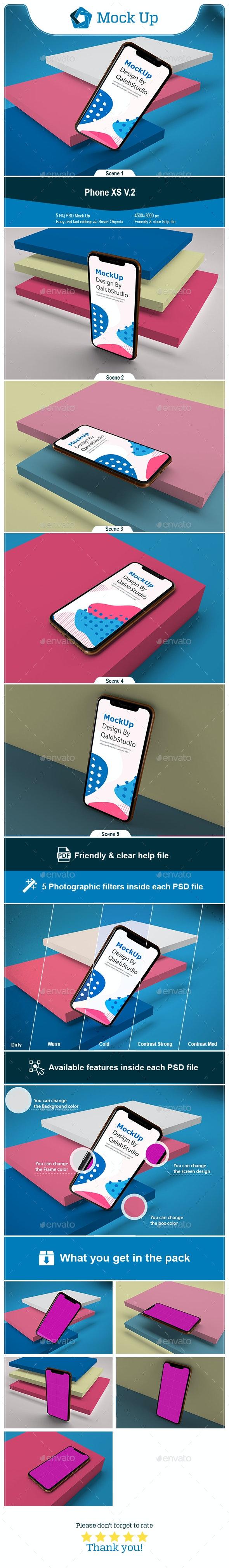 Phone XS V.2 - Mobile Displays