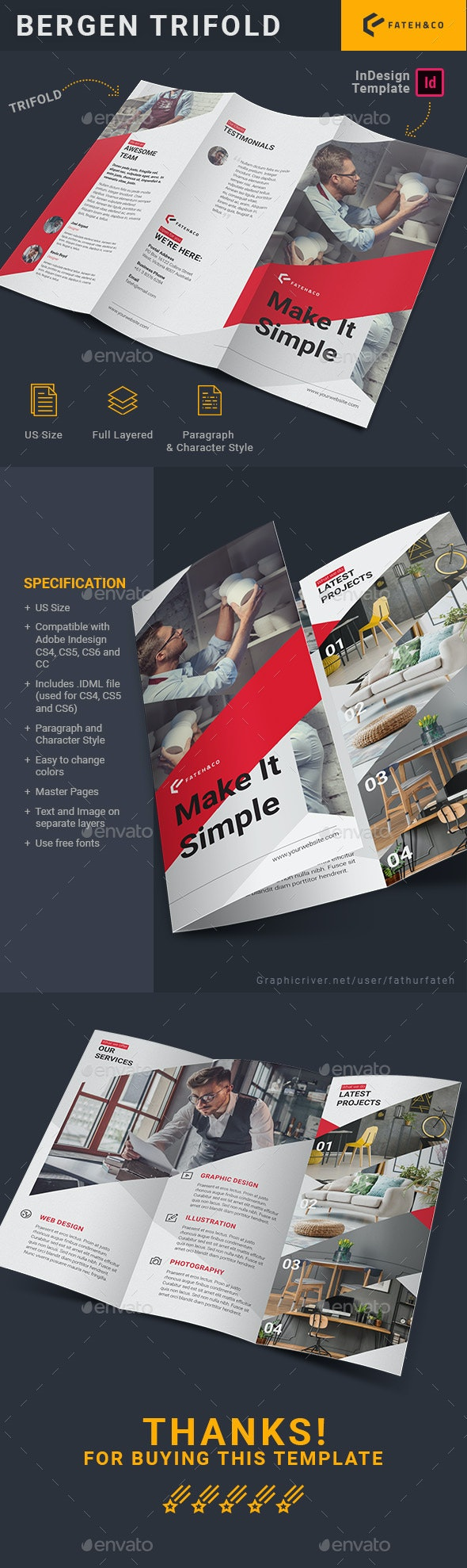 Bergen Trifold - Corporate Brochures