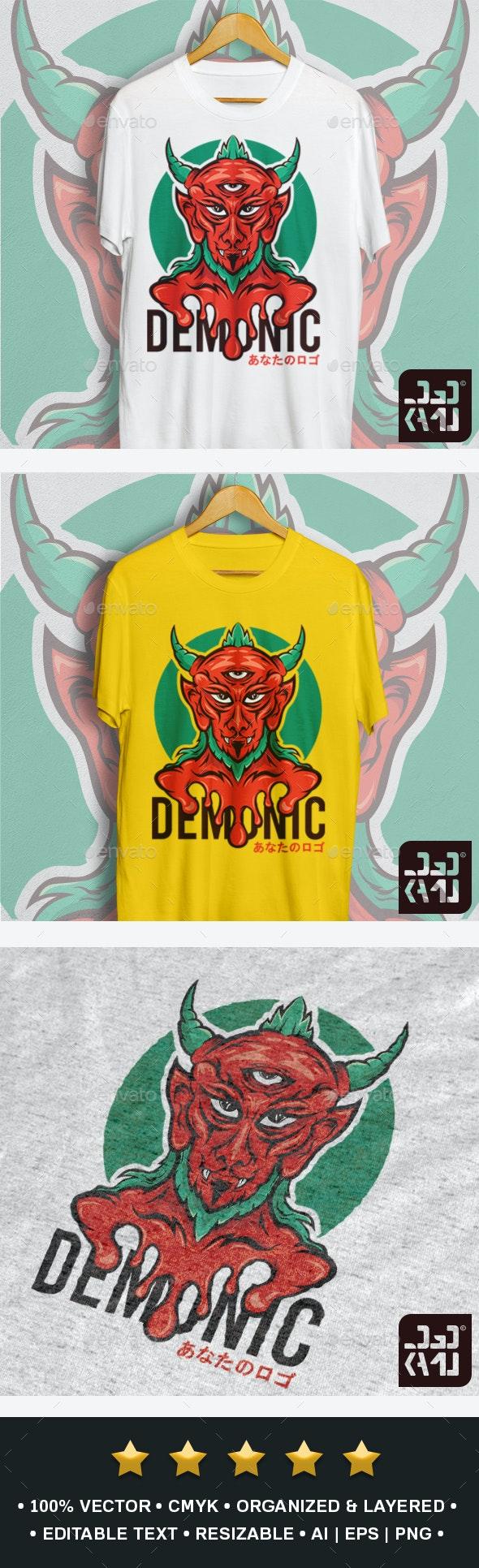 Demon T-Shirt - Designs T-Shirts
