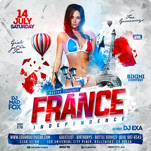 France Independence Party Flyer