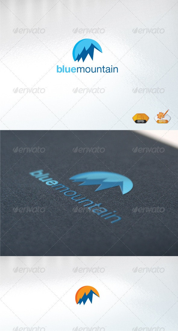 bluemountain - Abstract Logo Templates