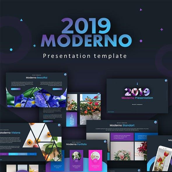 Moderno Creative Powerpoint