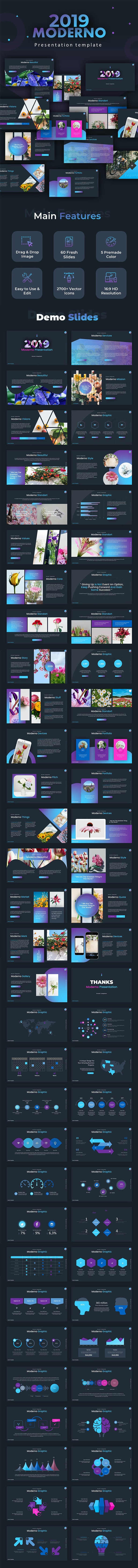 Moderno Creative Powerpoint - Business PowerPoint Templates