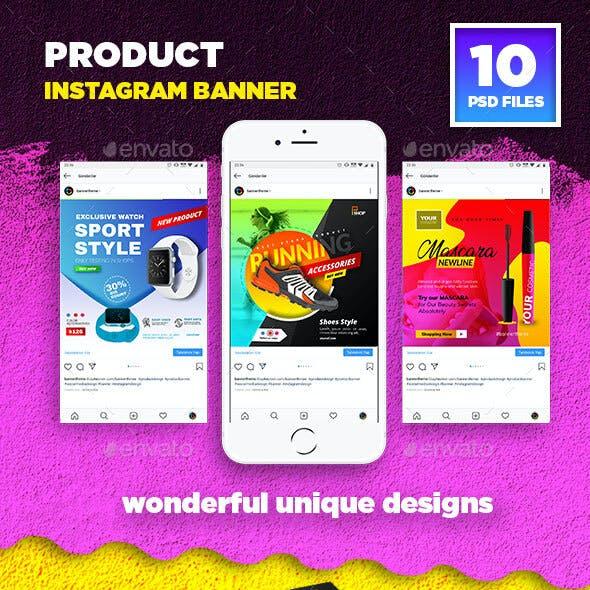 Product Instagram Banner