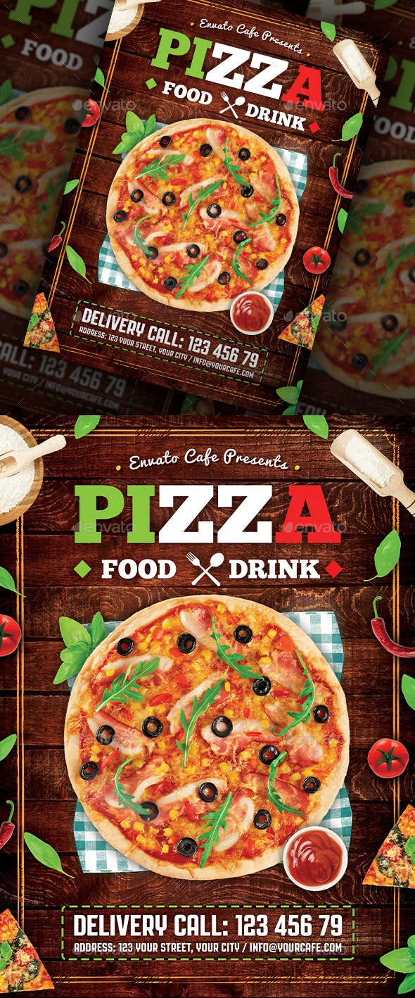 Pizza Flyer - Restaurant Flyers