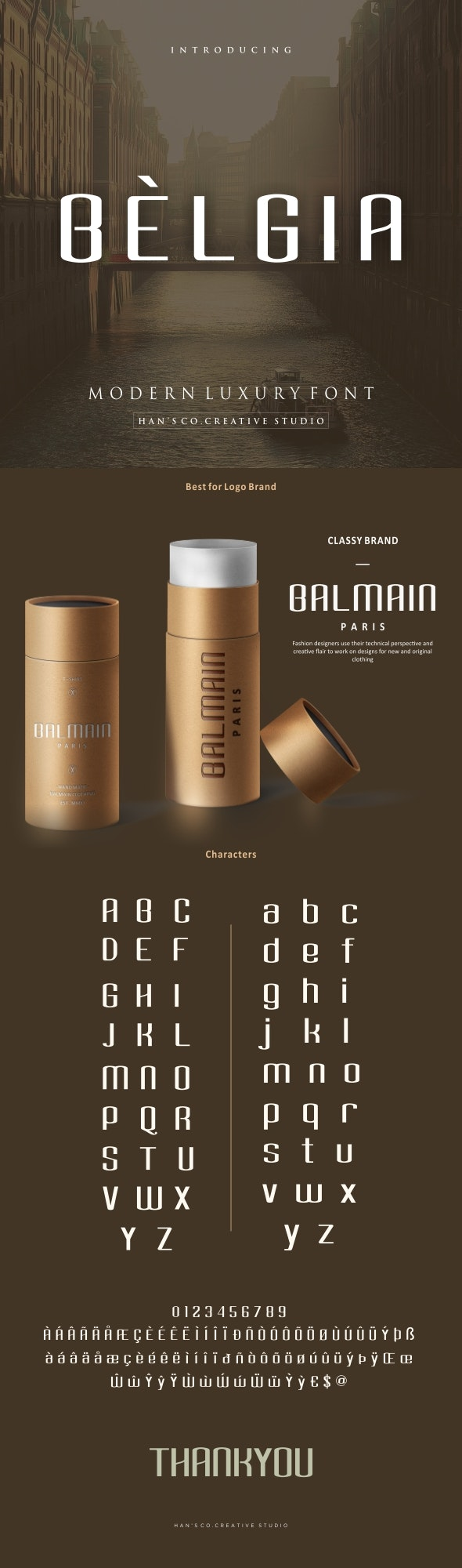 Belgia - Miscellaneous Sans-Serif