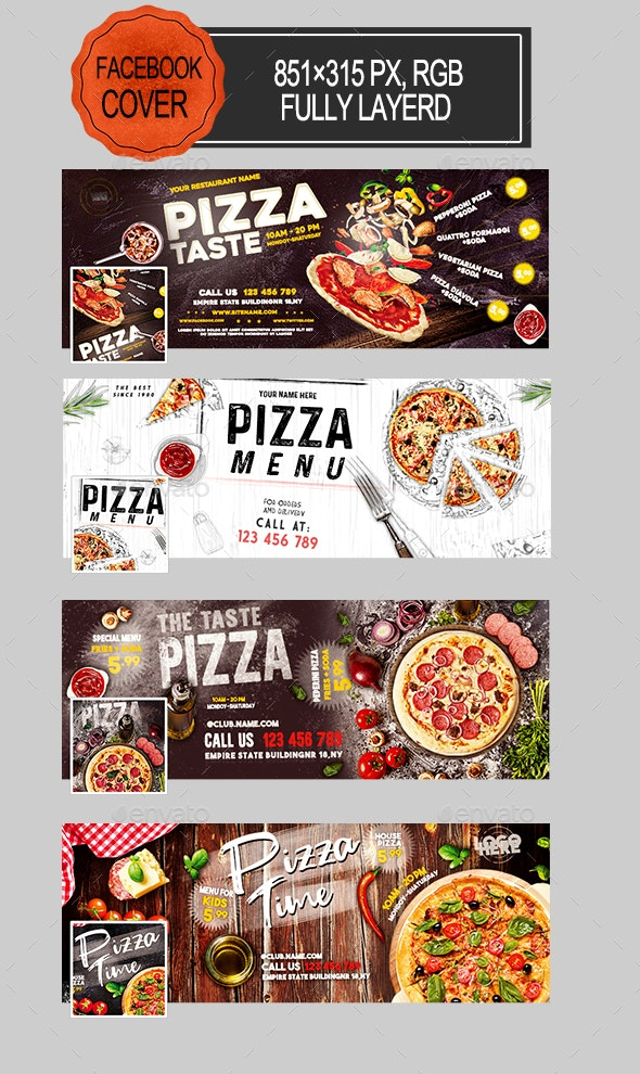Pizza Facebook Covers - Facebook Timeline Covers Social Media