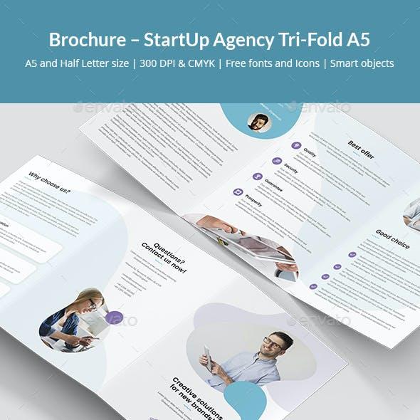 Brochure – StartUp Agency Tri-Fold A5