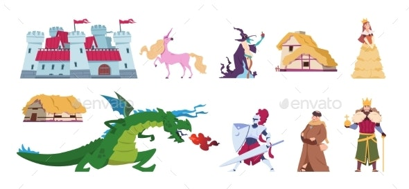Fairy Tale Characters - Miscellaneous Vectors