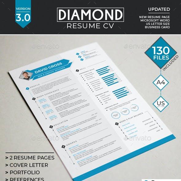 Resume/CV - Diamond