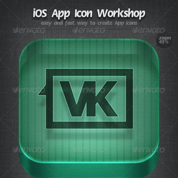 iOS App Icon Workshop