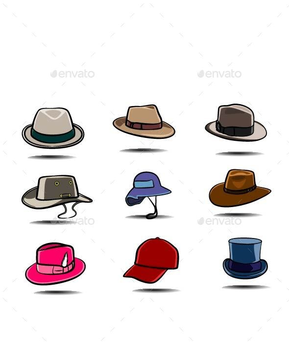 Hats - Man-made Objects Objects