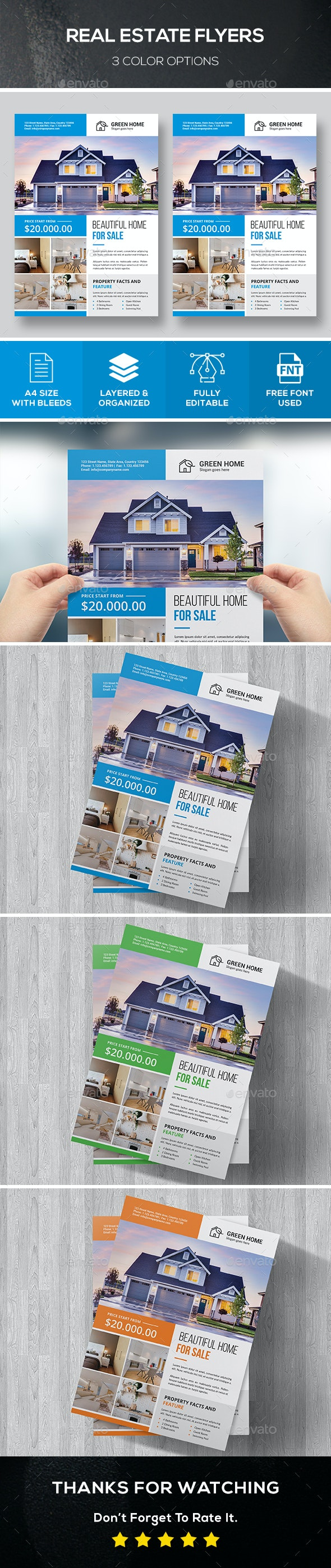 Real Estate Flyers - Commerce Flyers