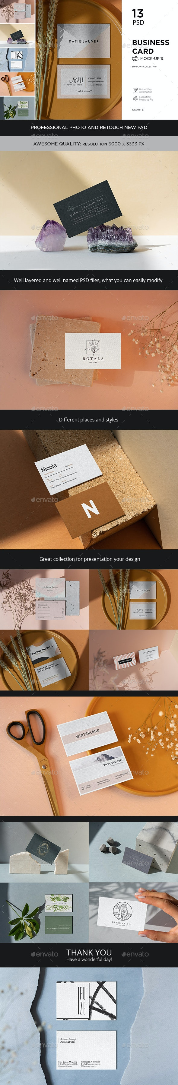 Business Card Shadows Collection - Business Cards Print