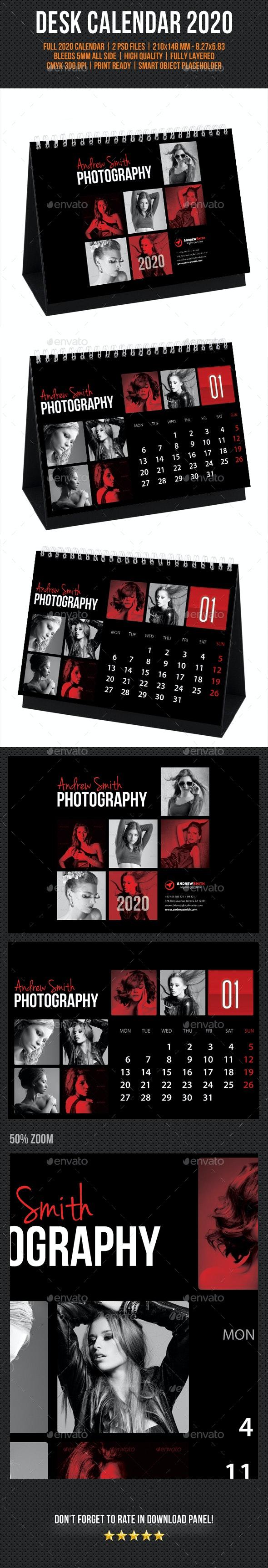 Creative Desk Calendar 2020 V15 - Calendars Stationery