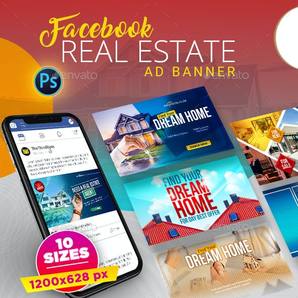 Real Estate Facebook AD Banner