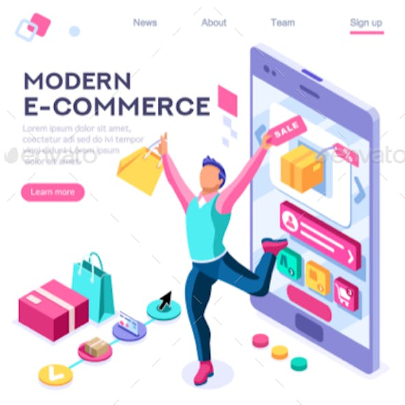 Buyer E-Commerce Interface Banner