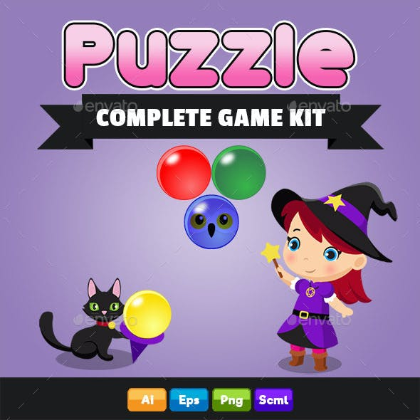 Puzzle Complete Game Kit