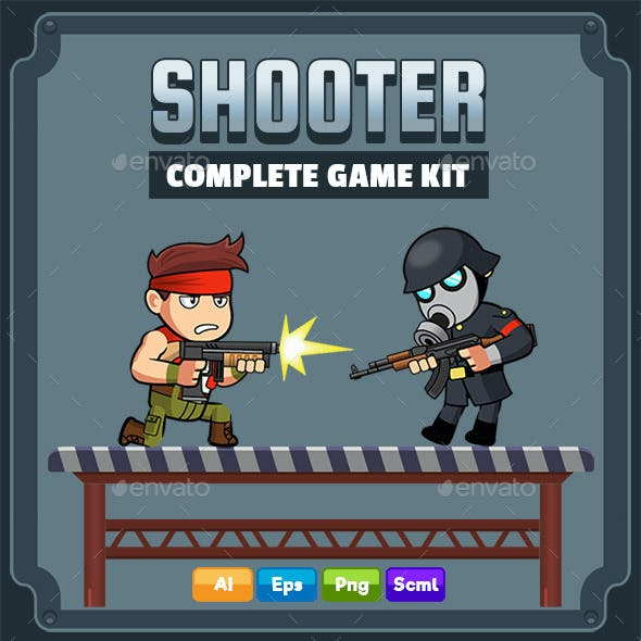 Shooter Complete Game Kit