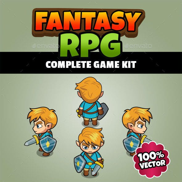 Fantasy RPG - Complete Game Kit