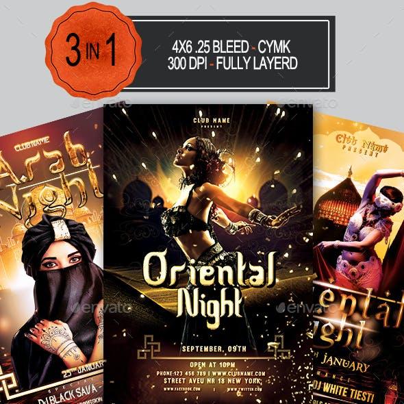 Oriental Flyer Bundle