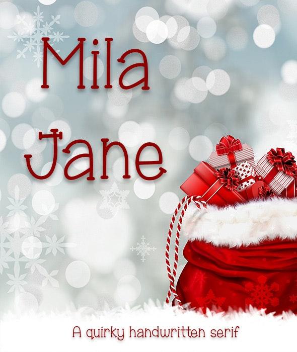 Mila Jane - Hand-writing Script