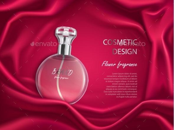 Perfume Bottle - Health/Medicine Conceptual