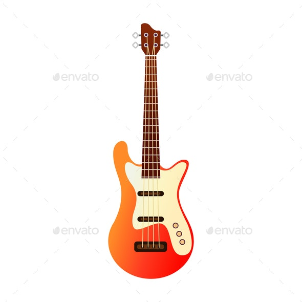 Electric Guitar - Miscellaneous Vectors