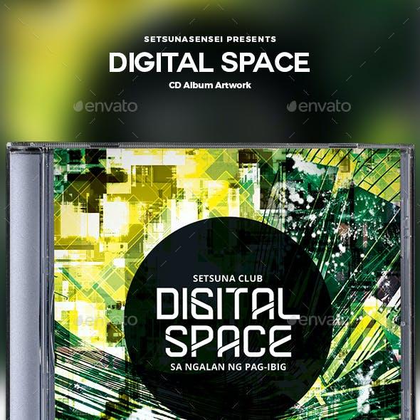 Digital Space CD Album Artwork