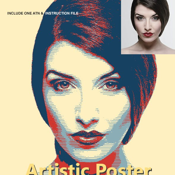 Artistic Poster Effect