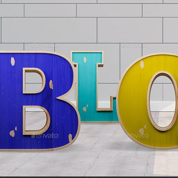 3D Block Lettering Pack