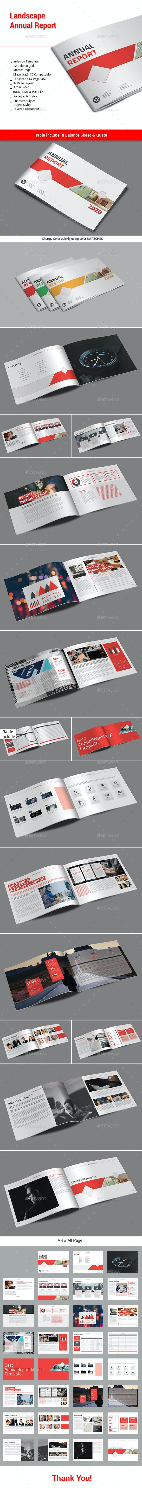 Landscape Annual Report - Informational Brochures