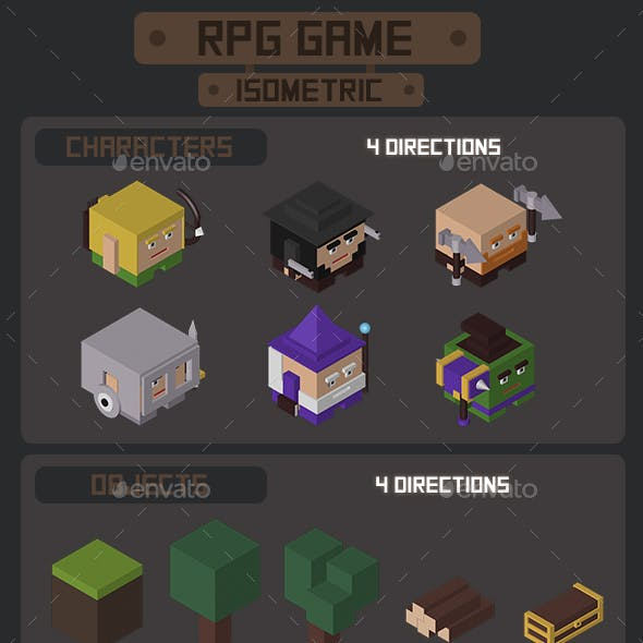 RPG Game Isometric